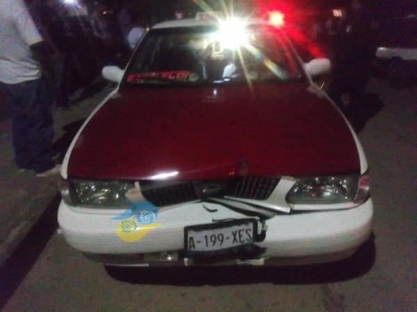 Atacan a conocida taxista de Las Choapas