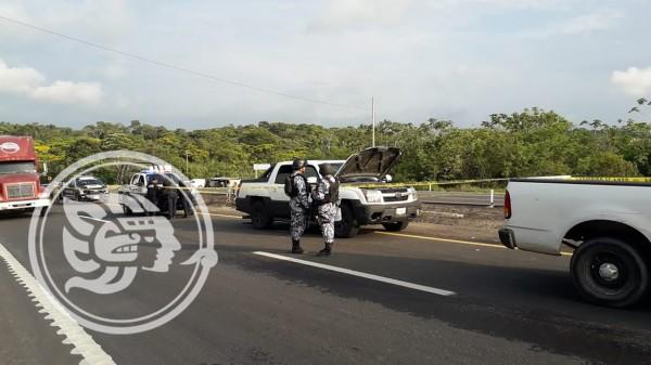 Atacan a migrantes en el sur de Veracruz; una mujer muerta