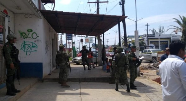 En Minatitlán, asaltan y hieren de bala a una persona