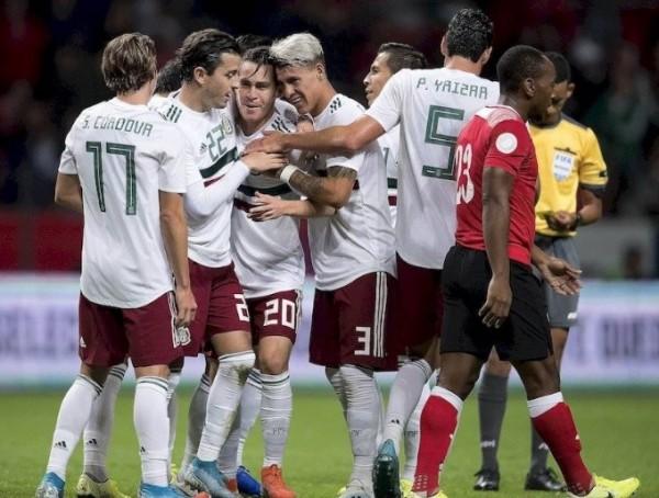 México supera a Trinidad y Tobago en Toluca
