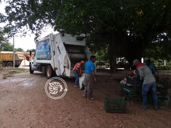 Retiran 87 toneladas de cacharro en Soconusco