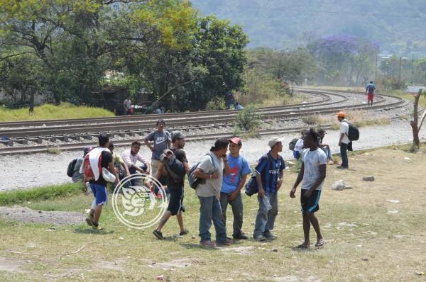 Se reactivó flujo de migrantes por el centro de Veracruz