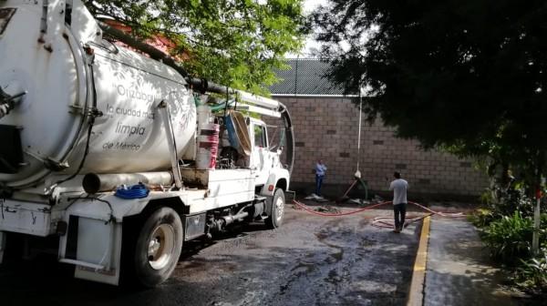 Colonia de Orizaba padece de anegamientos tras colocación de muro
