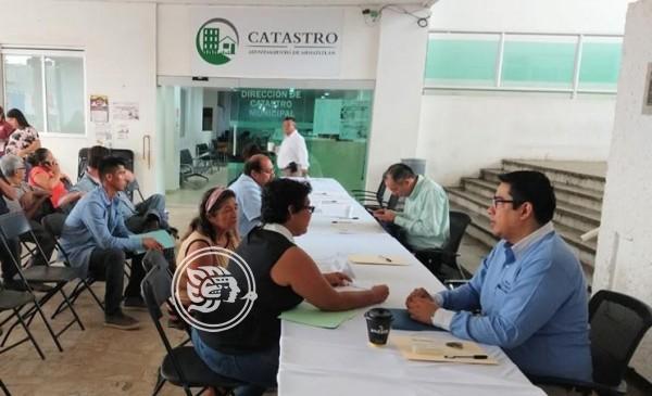 En Minatitlán, ciudadanos no concluyen trámites ante Catastro