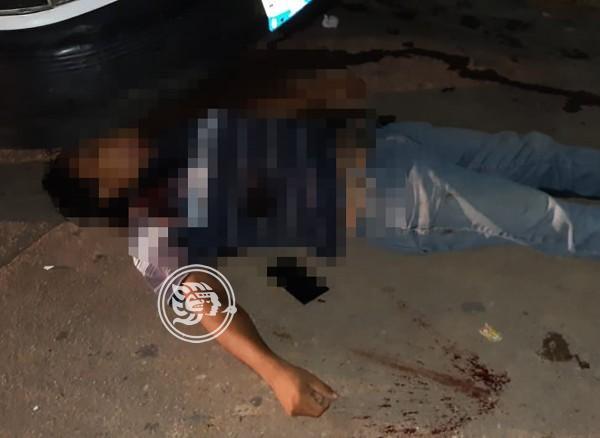 Taxista intentó fugarse de sus asesinos en Acayucan
