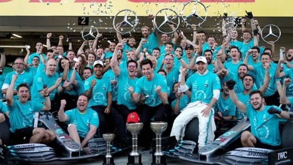 Mercedes conquistó su sexto mundial de constructores de F1