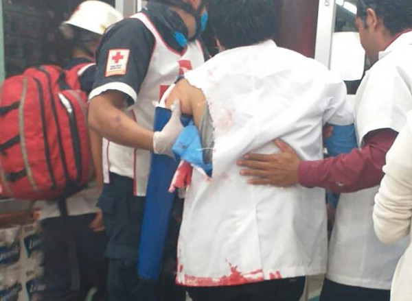 Convalece empleado baleado en farmacia de Coatzacoalcos