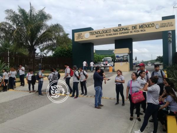 Protestan en el Tec de Poza Rica; acusan carencias y acoso