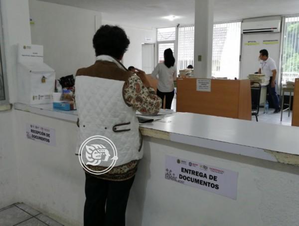 Aumentan atenciones en Registro Público de Tuxpan