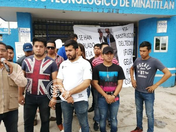 No es negociable la salida del director del Tec de Minatitlán