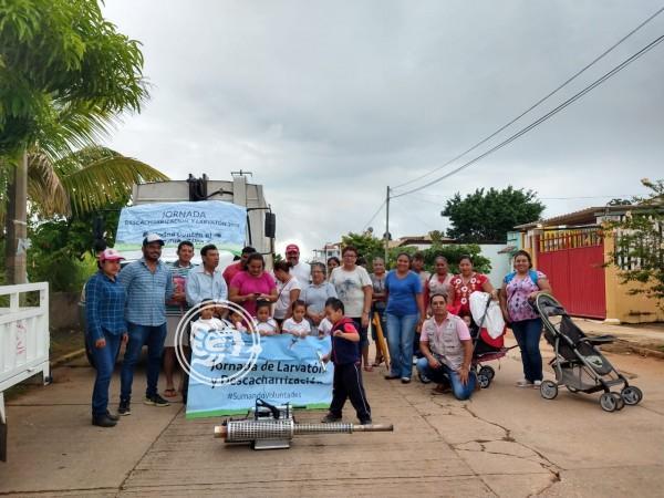 Reducen los casos de dengue en Cosoleacaque