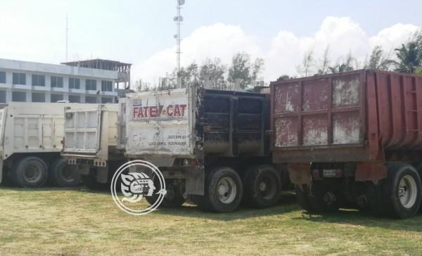 Precios de combustibles afectan a materialistas tuxpeños