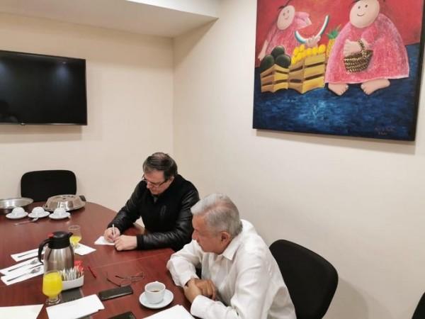 Recibió López Obrador llamada de Trump por los hechos en Culiacán
