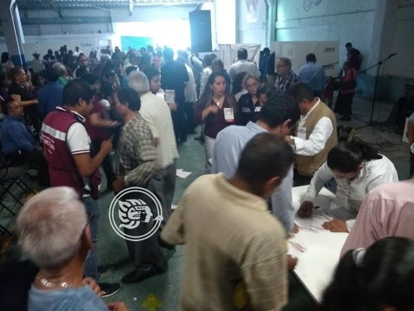 Realiza Morena elección de delegados en Orizaba