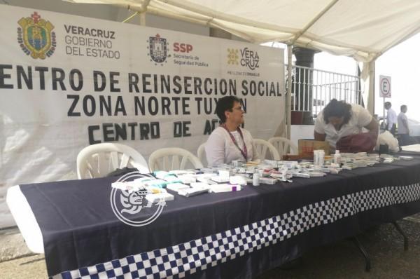 Realiza Cereso de Tuxpan colecta de medicinas