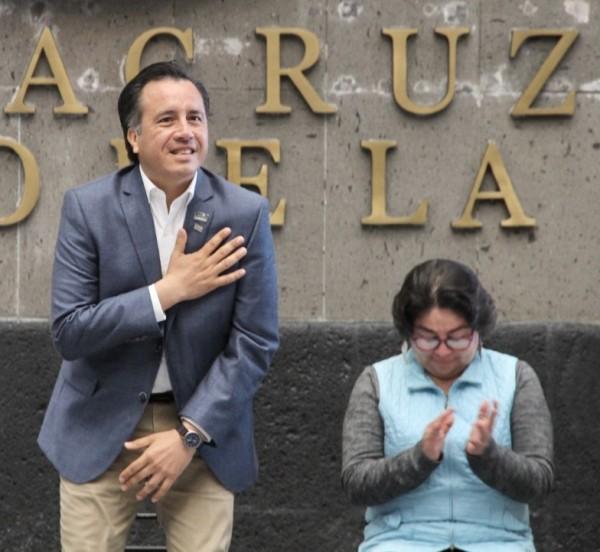 Delitos van a la baja, dice Cuitláhuac García; pide no exagerar con feminicidios registrados en Veracruz