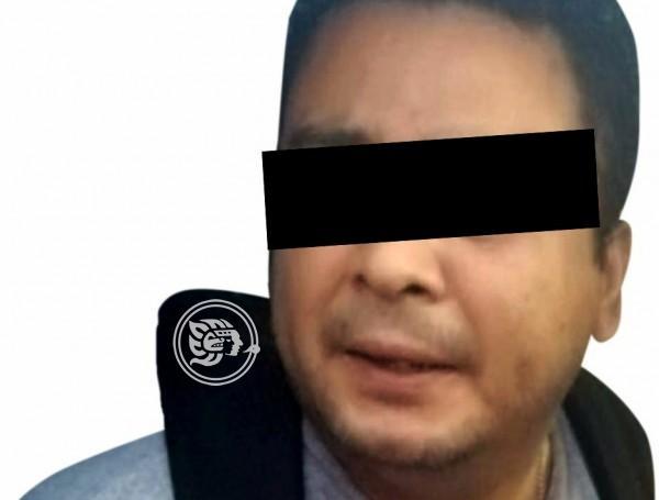 Cae sujeto por presuntamente violar a su hija en Hueyapan