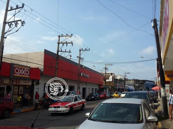 Imparables los cierres del comercios en Minatitlán