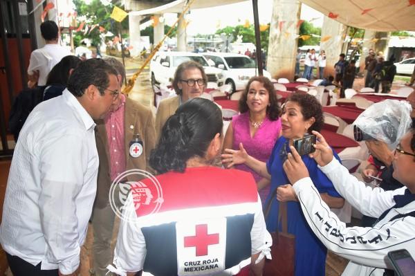 Migración, de las principales atenciones de Cruz Roja en Veracruz