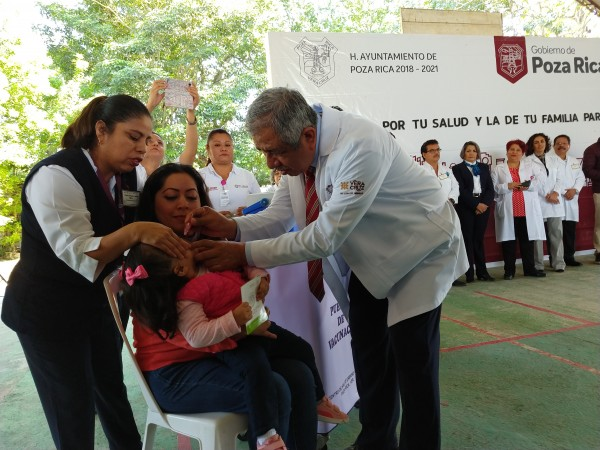 Inició jornada de Salud en Poza Rica