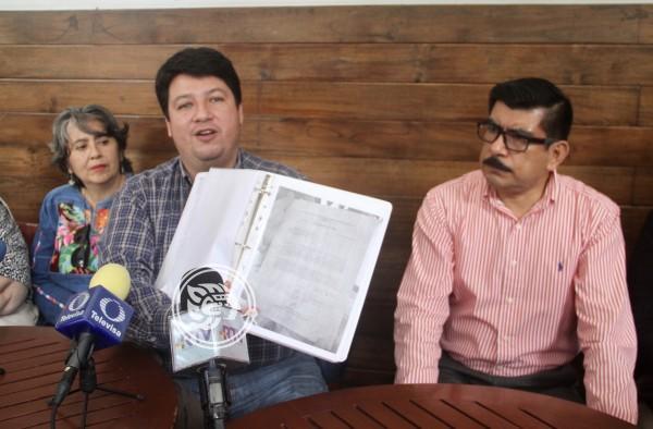 Omisiones y moches en obras de granja avícola en Alto Lucero, acusan