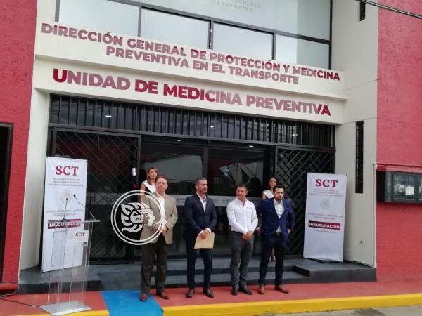 Inauguran en Ixtac unidad médica para transportistas