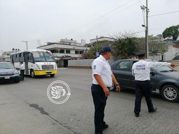 Intensifican operativos viales en Tuxpan