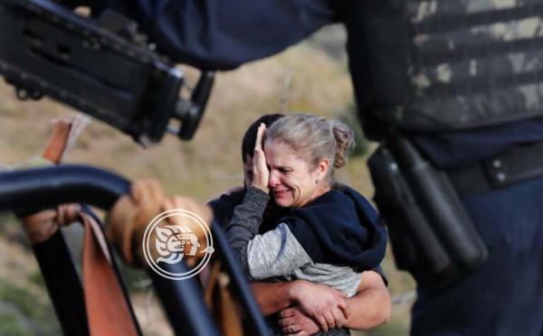 La comunidad mormona despide a las víctimas de la matanza de México