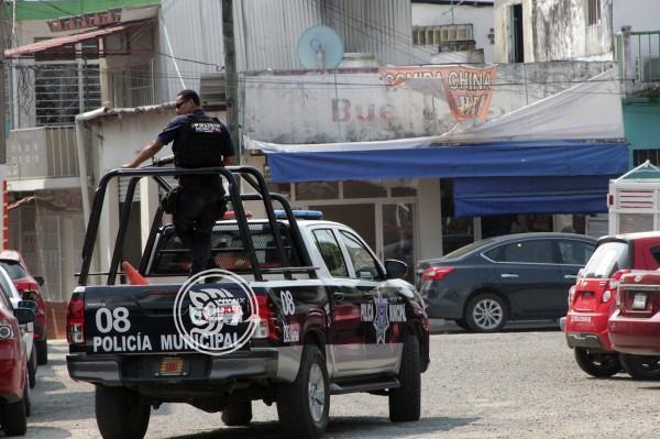 Refuerzan seguridad en bancos y escuelas de Las Choapas