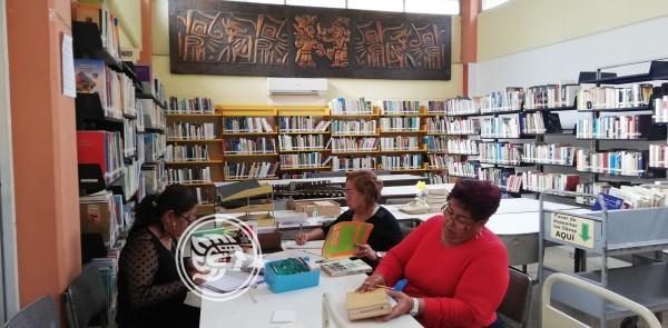 Biblioteca Quetzalcóatl, parte del Parque Central Miguel Hidalgo y Costilla