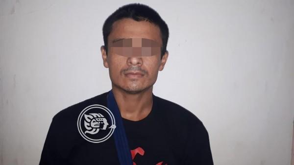 A proceso, presunto asaltante de banco en Jáltipan