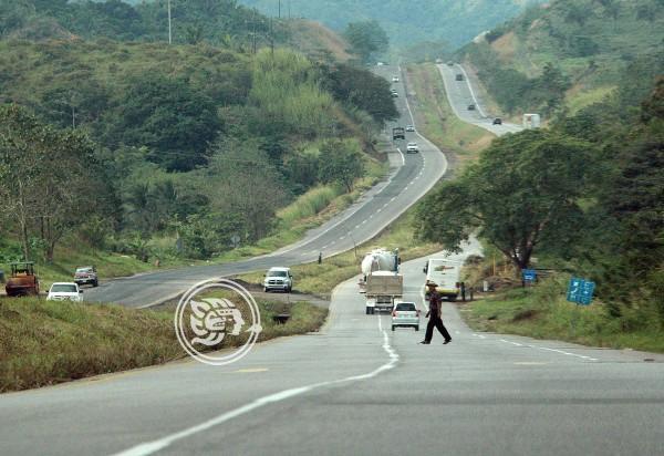 Rehabilitará SCT 320 kilómetros en el sur de Veracruz