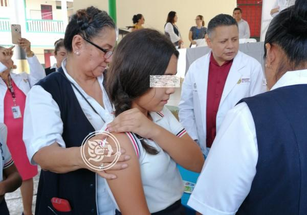 Garantizada, vacunación contra la influenza en el norte de Veracruz