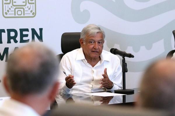 Se cancela Tren Maya si el pueblo no lo acepta, reitera López Obrador
