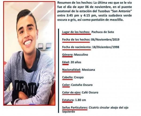 Sin resolverse desapariciones forzadas en Hidalgo