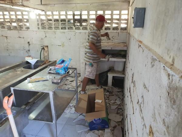 Inicia FGE trabajos de remodelación en SEMEFO de Coatzacoalcos
