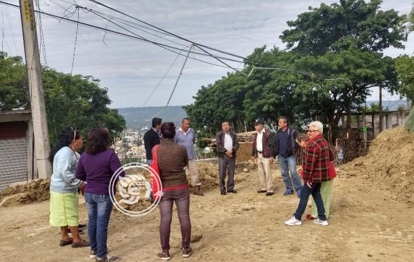Bloquean obra en Poza Rica; acusan falta de agua