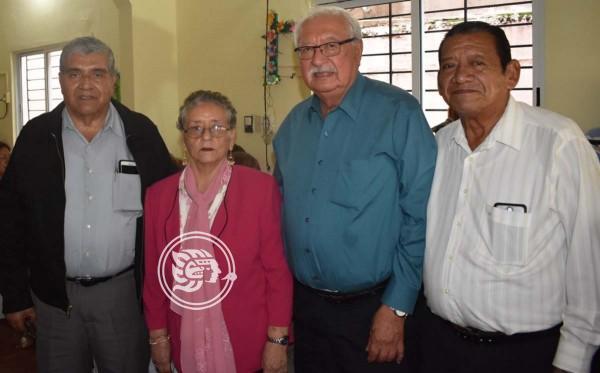 En Coatzacoalcos, conmemoran a Jubilados Petroleros aniversario